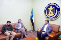 The Secretary-General discusses with Director of United Nations Office in Aden humanitarian and services conditions