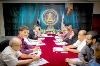 The General Secretariat discusses preparations to celebrate 14th of October anniversary
