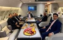 President Aidaroos Al-Zubaidi heads to the Saudi capital Riyadh