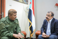 The Chairman of the National Assembly meets Security Director of Lahj