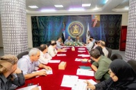 The General Secretariat holds its weekly meeting chaired by Lamlas