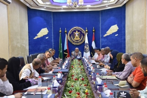 Al-Wali chairs important meeting of Relief and Humanitarian Committee of Transitional Council