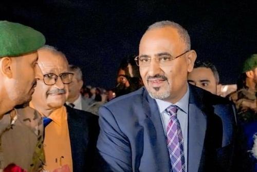 President Aidaroos Al-Zubaidi returns to the capital Aden