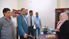 President Al-Zubaidi inspects work progress at the National Assembly