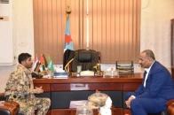 President Al-Zubaidi discusses with Al-Bohar the situation in Shabwa