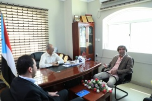 Al-Jadi discusses with Griffith's Adviser the future of Riyadh Agreement
