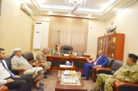 President Al-Zubaidi meets with the Commander of the Special Security Forces