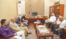 President Al-Zubaidi meets with members of the southern community in the United States