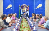 President Al-Zubaidi chairs joint meeting of Council Presidency and an elite of southern intellectuals