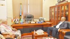 President Al-Zubaidi meets the Deputy Chief of Staff for Technical Affairs