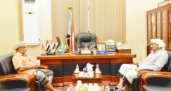 President Al-Zubaidi meets with head of the tribal bloc of Sabiha