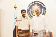 President Al-Zubaidi meets with Sheikh Ahmed Al-Awlaki of Shaml al-Awalq
