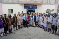 Chairman of the National Assembly meets elders and members of the tribes of Laqmosh