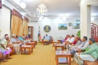 President Al-Zubaidi meets representatives of Abyan in National Assembly