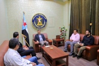 Lamlas discusses with UN Envoy Office number of political files
