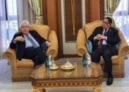 Al-Khubaji meets United Nations Secretary-General's Special Envoy Martin Griffiths