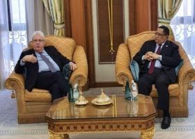 Al-Khubaji meets United Nations Secretary-General's Special Envoy Martin Griffiths