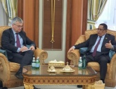 Al-Khubaji meets Ambassador and Special Envoy of Kingdom of Sweden to Middle East and North Africa