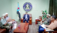 The Secretary-General meets political and security leaders from Lawdar district of Abyan