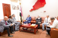 Major General Ben Brik meets Head of International Committee of Red Cross in Aden the capital