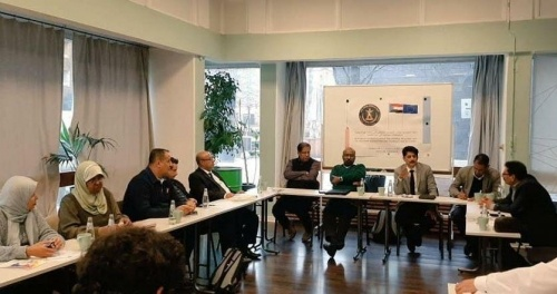 Transitional Council Foreign Affairs Office in European Union organizes meeting with southern organizations