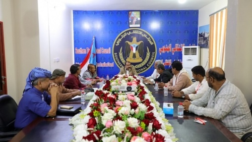 Major General Ben Brik meets the Southern-Southern Consensus Commission