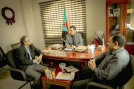 Secretary-General meets Director of Transitional Council Foreign Affairs Office in Canada