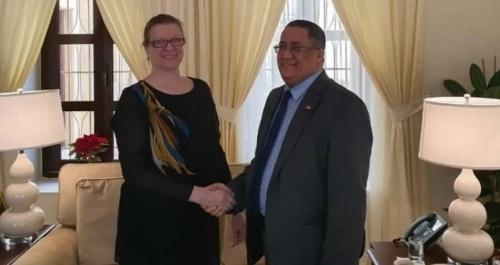 Al-Khubaji meets the American Deputy Ambassador to Yemen