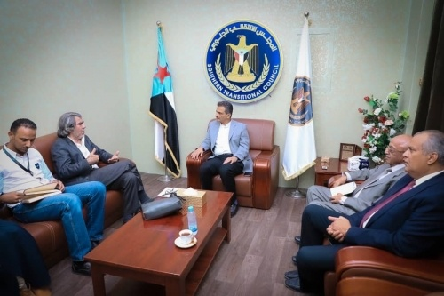 The Secretary-General meets Advisor to UN Envoy Griffiths and discusses number of political issues