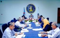Lamlas chairs the weekly meeting of the General Secretariat of the Presidency of Transitional Council
