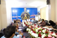 Major General Ben Brik chairs extraordinary meeting of the administrative body of National Assembly