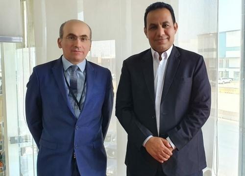 Al-Shabhi representative of Transitional Council Foreign Affairs meets French Deputy Ambassador to Yemen