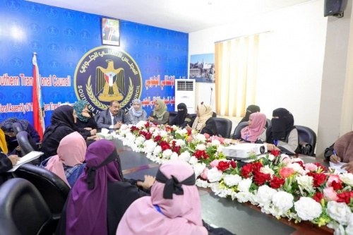 Major General Ben Brik discusses with Heads of women departments of the governorates their work activities