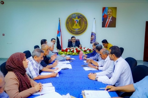 The General Secretariat holds its weekly meeting headed by Al-Sokatri