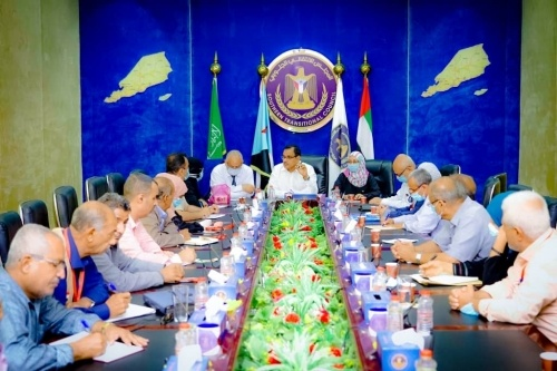 Al-Sokatri chairs meeting of Relief and Humanitarian Affairs Committee