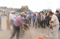 Major General Al-Sokatri launches comprehensive cleaning campaign in Aden the capital