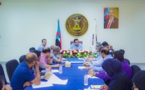 General Secretariat of the Presidency of Transitional Council held its weekly meeting chaired by Al-Soqtari