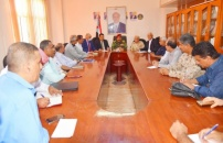 Follow up committee to implement outputs of Transitional Council Presidency emergency meeting helds its first meeting in the Office of Aden the Capital