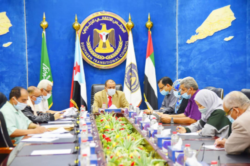 Presidency of Southern Transitional Council approves projects of Self-Administration and Economic Committees