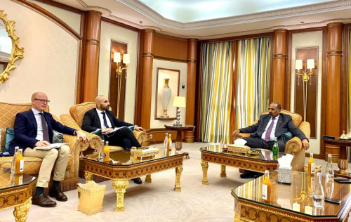 President Al-Zubaidi receives officials from Kingdoms of Sweden and Netherlands