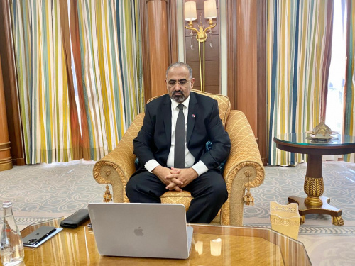 President Al-Zubaidi holds video call meeting with Swedish Special Envoy to Middle East and North Africa