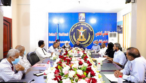 Major General Bin Brik chairs meeting of Financial Department for Economic Committee of Southern Self-Administration