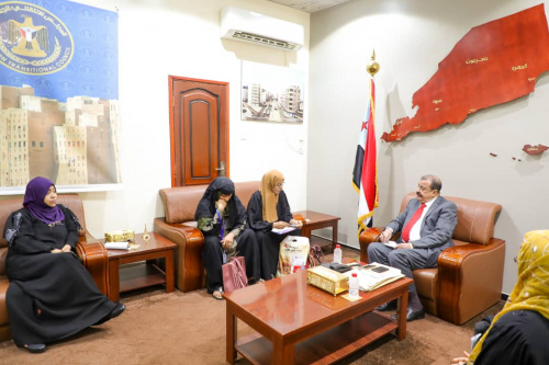 Major General Bin Brik meets Head of Preparatory Committee for General Union of Southern Women