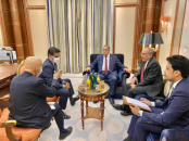 Head of Negotiations Affairs Unit of the Transitional Council receives the American Deputy Ambassador