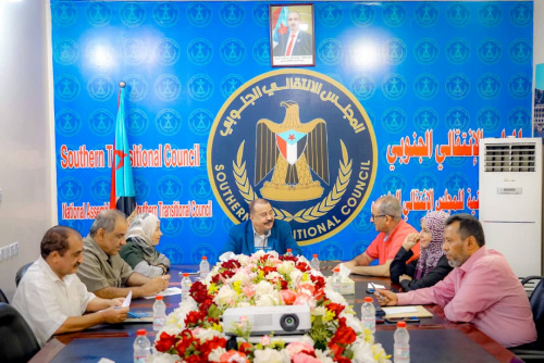 Presidency of the Transitional Council holds its periodic meeting chaired by Major General Bin Brik
