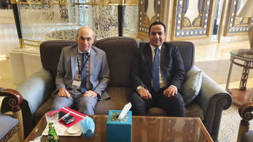 Representative of Transitional Council Foreign Affairs; Al-Shabhi discusses with French Deputy Ambassador developments of implementing Riyadh Agreement
