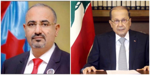 President Al-Zubaidi offers condolences to the President of the Republic of Lebanon for victims of Beirut explosion