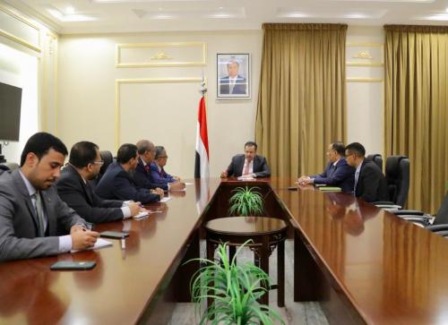Head of Negotiations Affairs Unit meets the designated Prime Minister