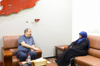 Major General Bin Brik reviews future plans for women and children sector in the National Assembly