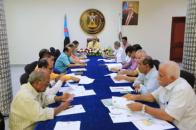 The General Secretariat holds its periodic meeting headed by Al-Jaadi